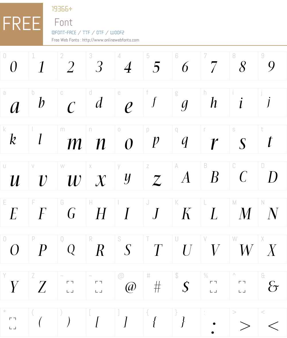 Amita MICRO Book Font Screenshots