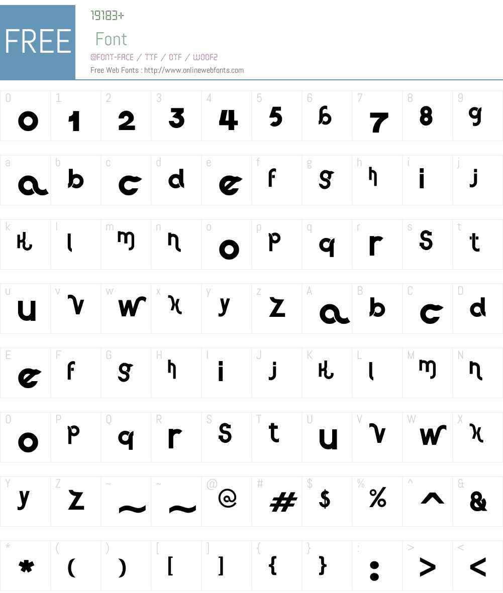 Haus Sweet Haus Font Screenshots