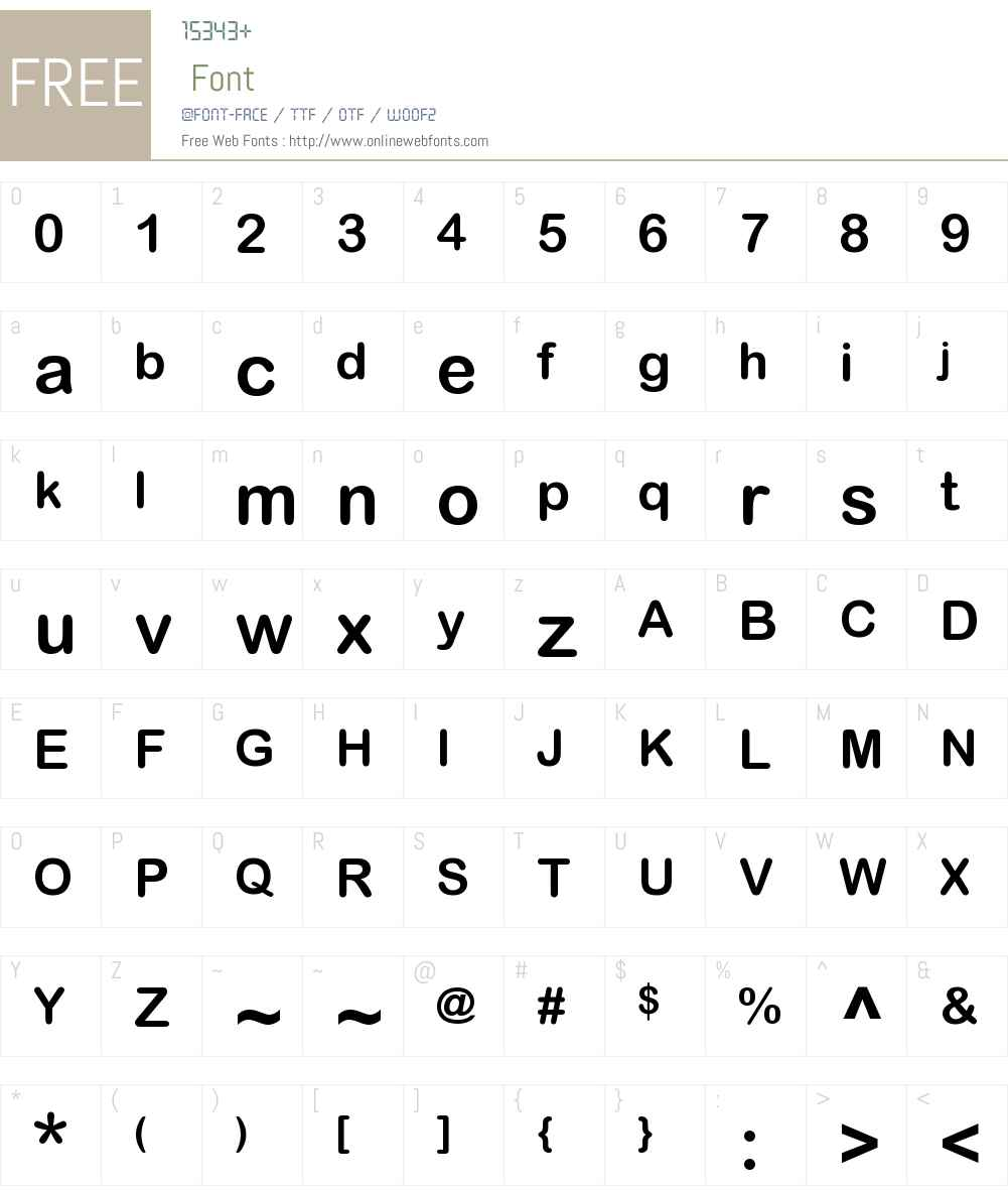 Arial Rounded MT Pro Cyr Font Screenshots