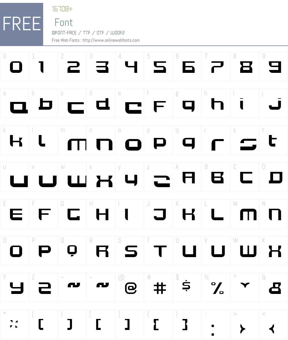 JoyRiderBoldW00-Regular Font Screenshots