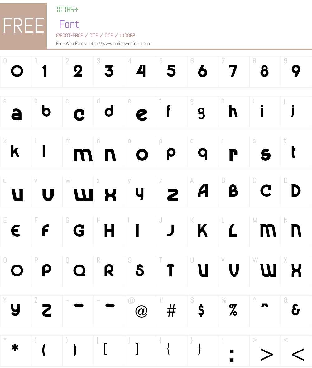 Dingaling Font Screenshots