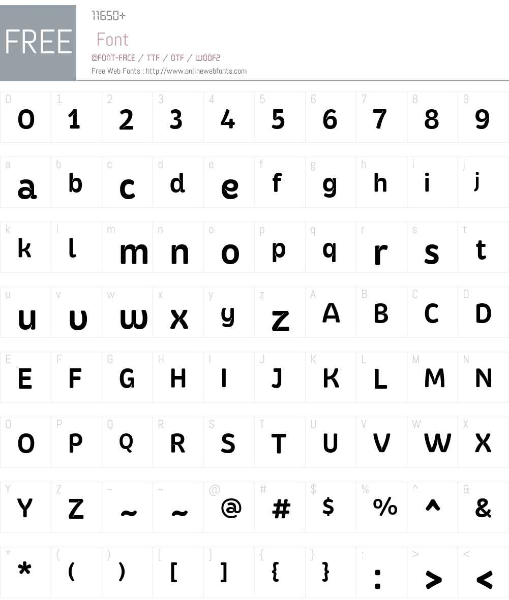 Kasia-DemiBold Font Screenshots