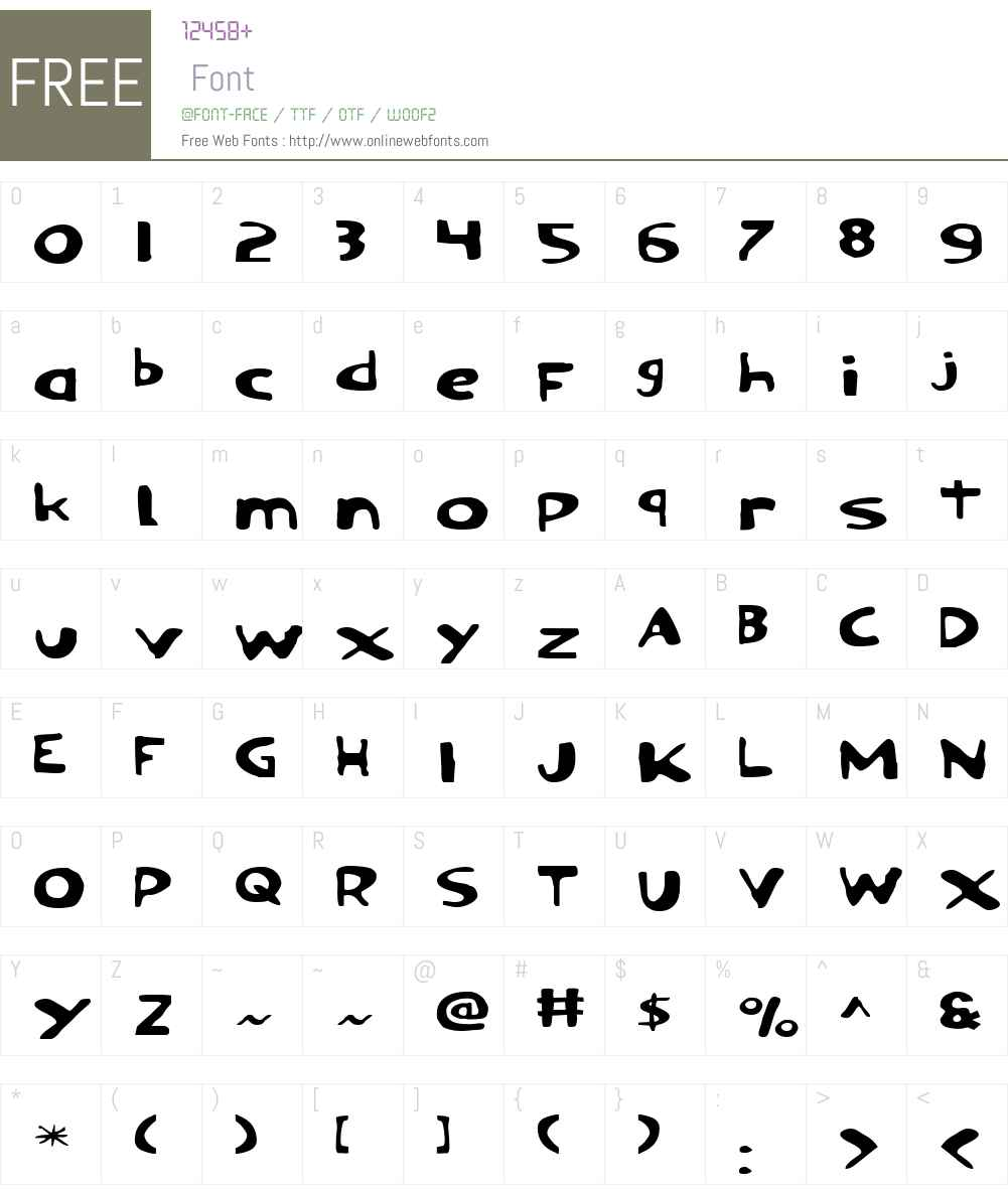 Ozymandias Expanded Font Screenshots