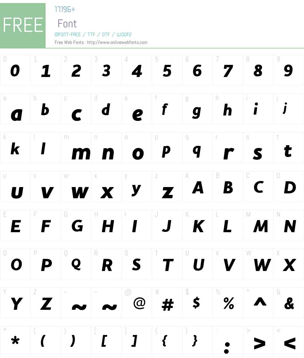 Houschka Alt Font Screenshots