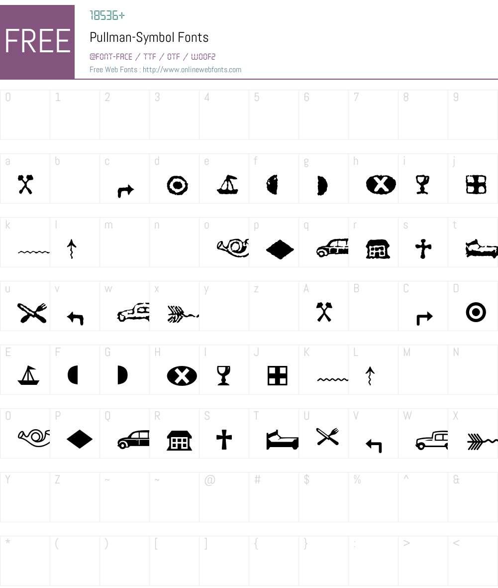 Pullman Font Screenshots