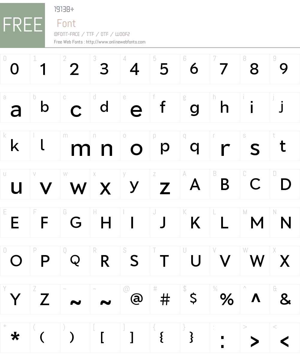 MomentumSans Text Medium Font Screenshots