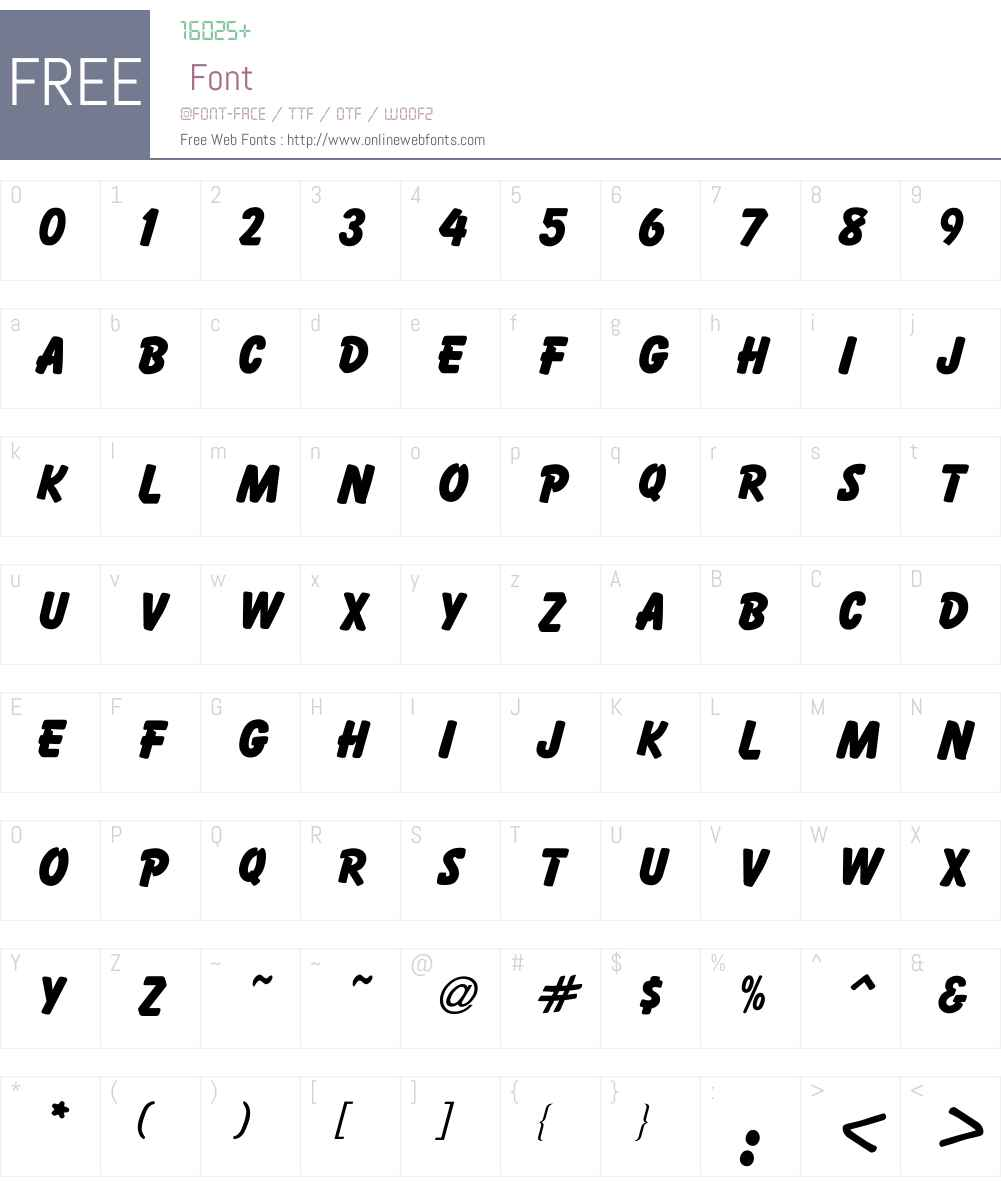 Ballemi Extra Font Screenshots