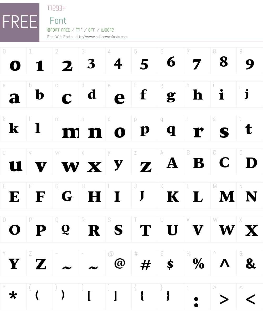 SirbaGreekW04-Black Font Screenshots