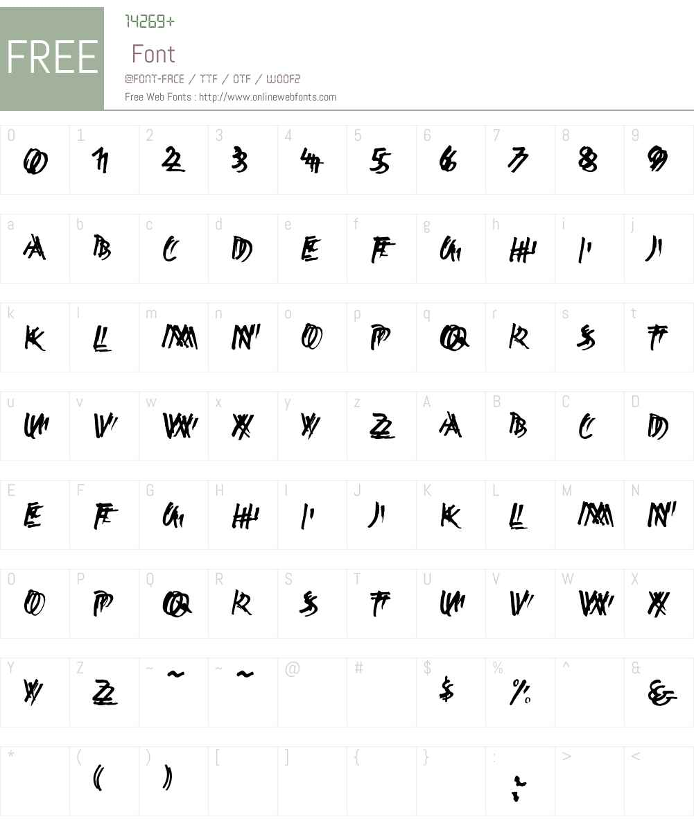 Ekttor Font Screenshots