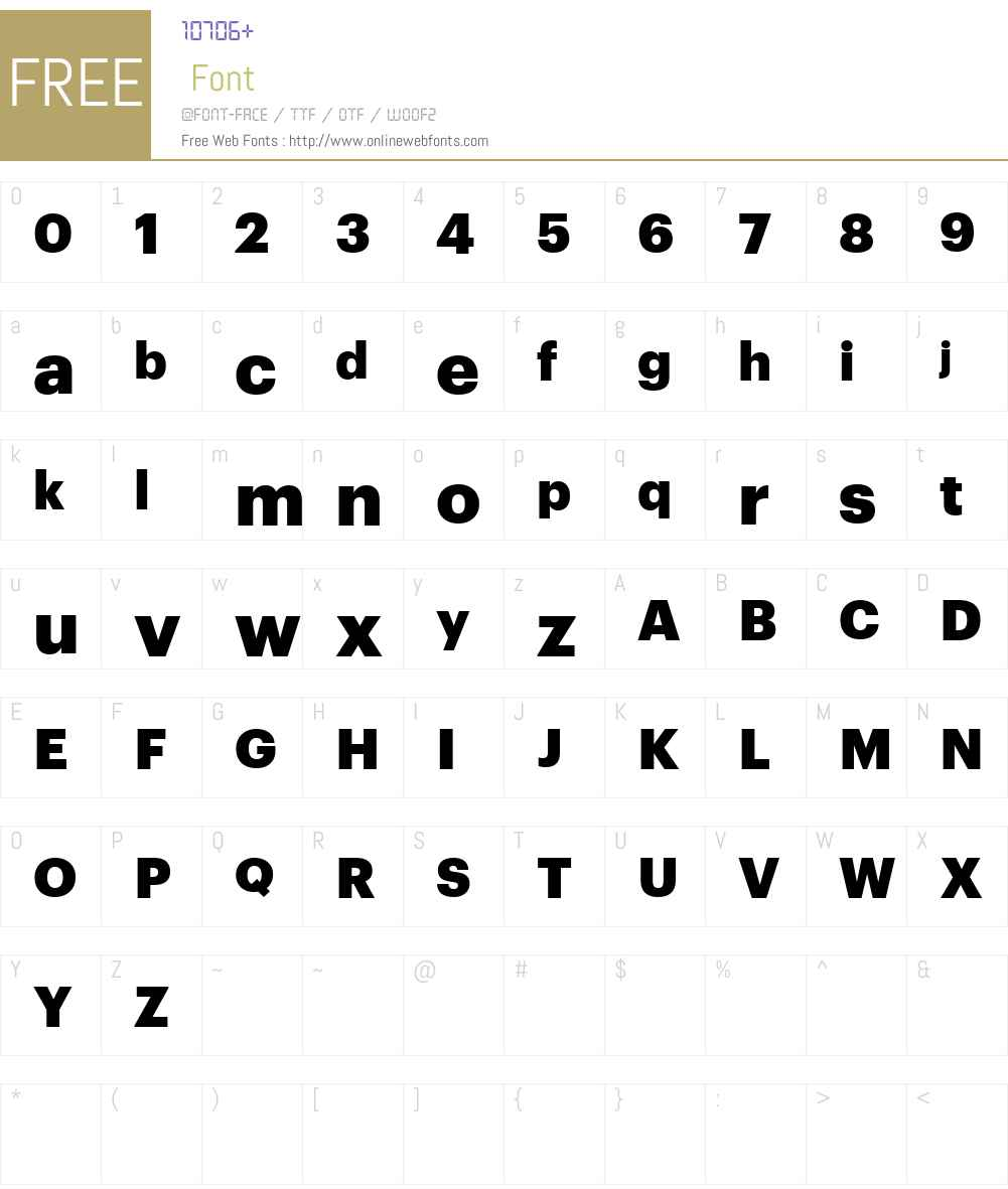 Graphik Web Black Font Screenshots