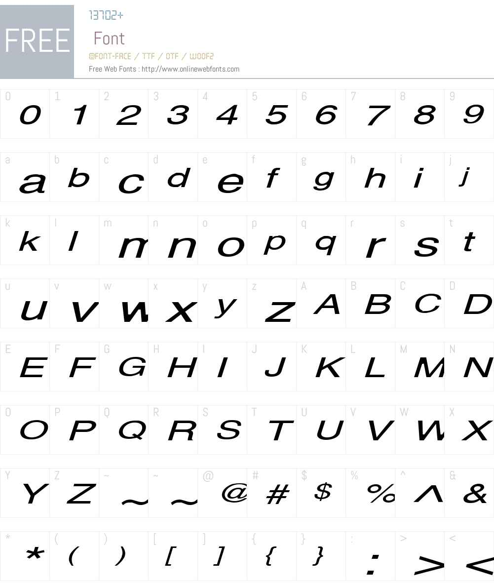 Alps Extended Font Screenshots