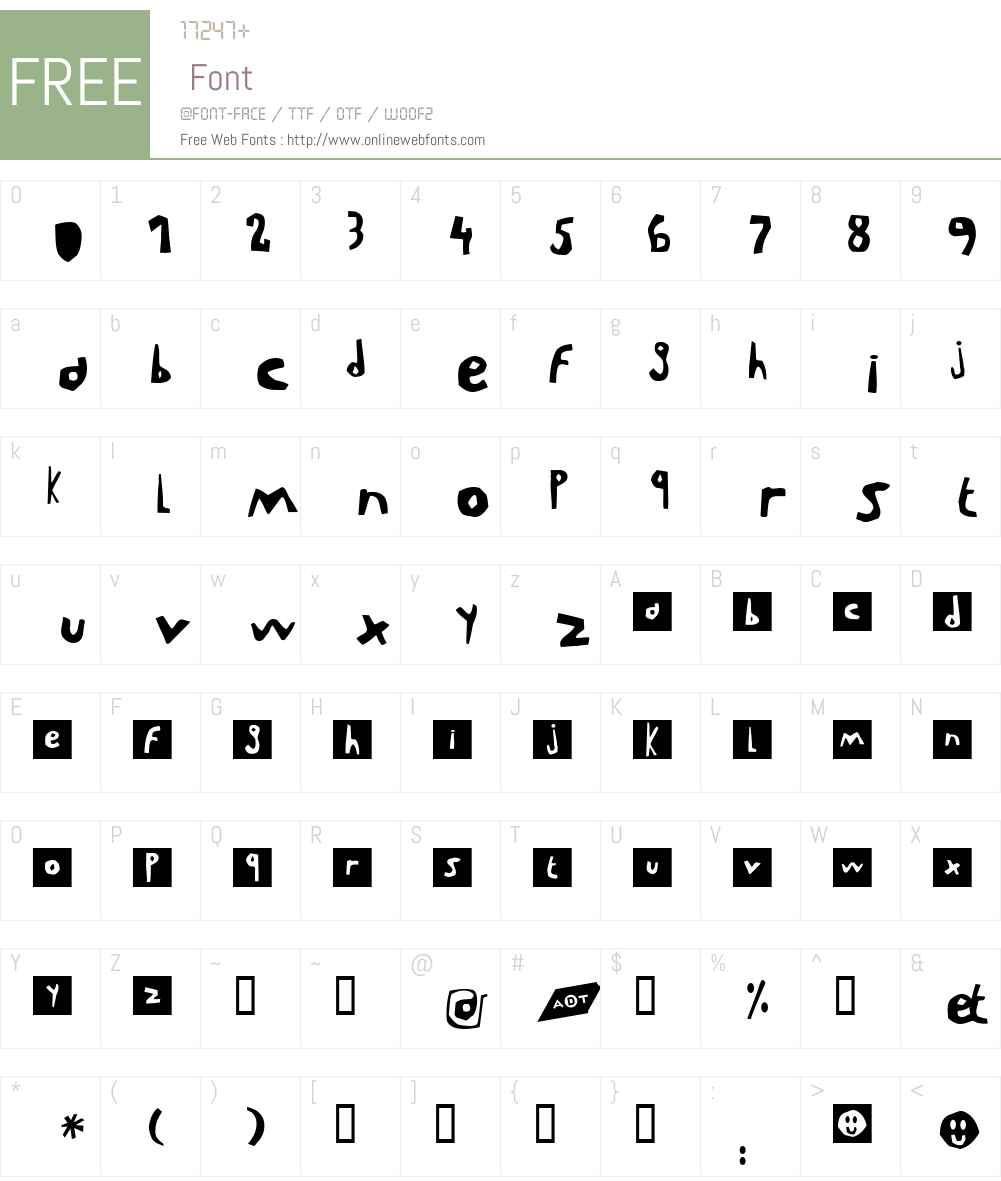 LeVincent Font Screenshots