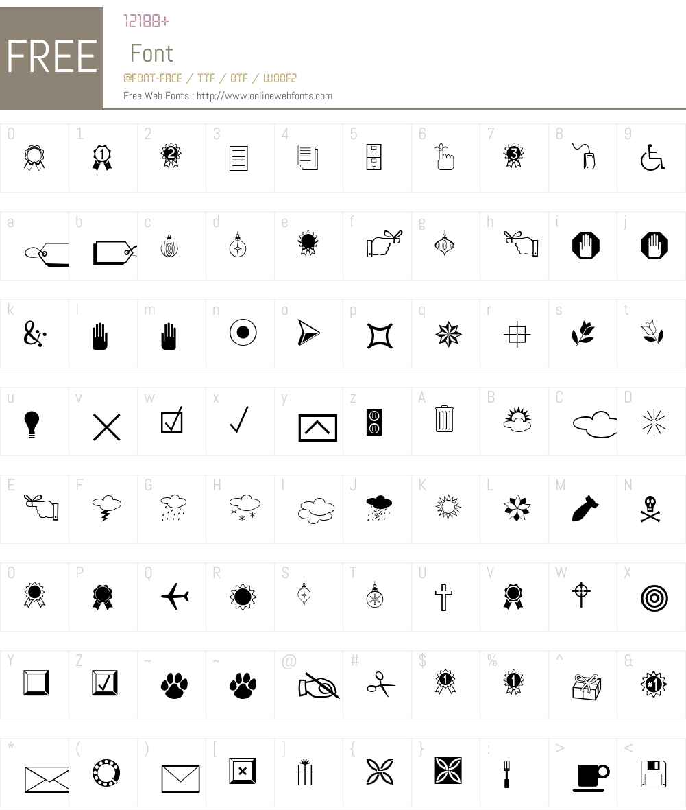 IngyDingMCD Font Screenshots