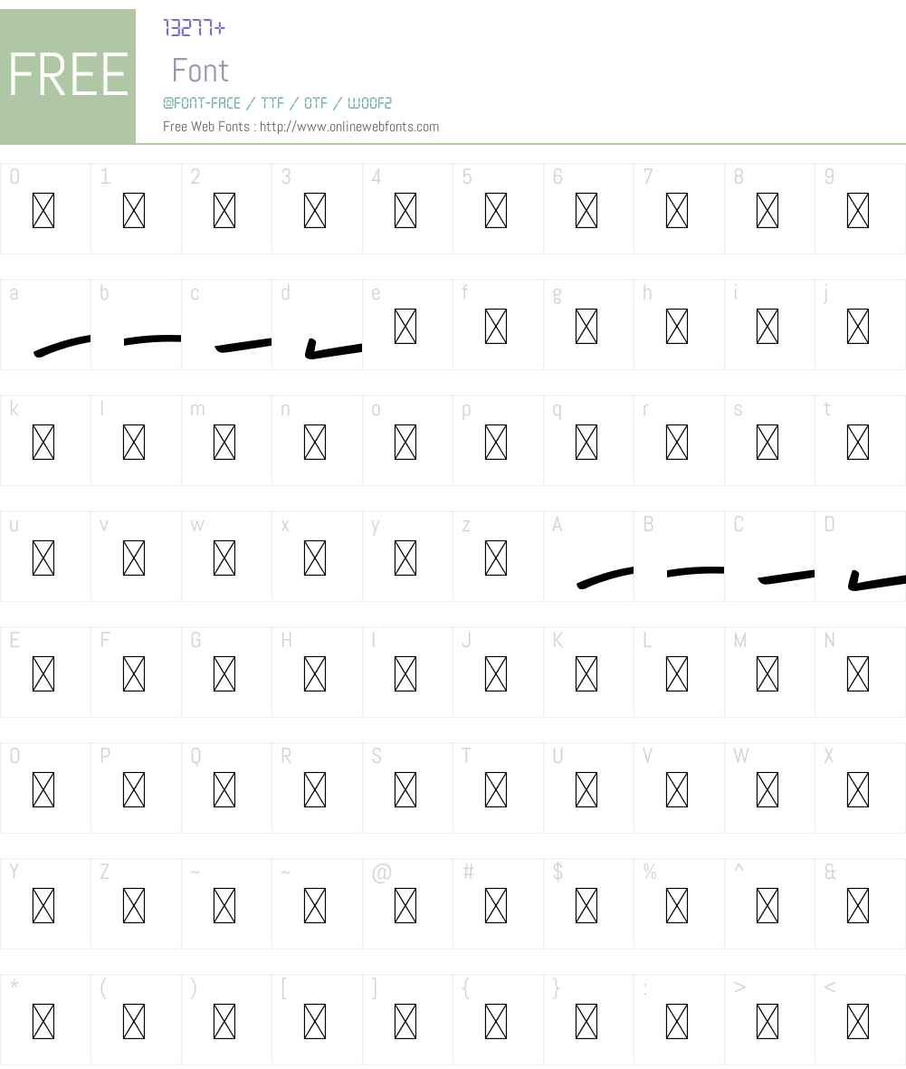California Swashes Font Screenshots