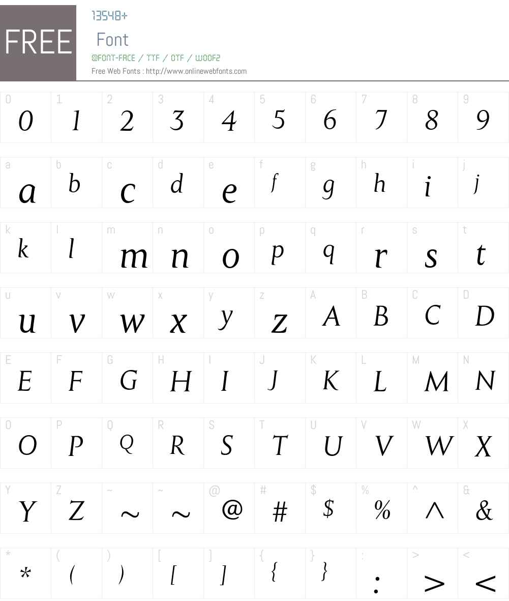 MonktonRegularItalic Font Screenshots