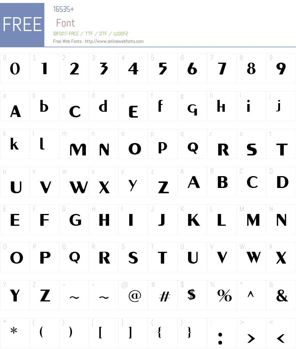 Paquete SSi Font Screenshots