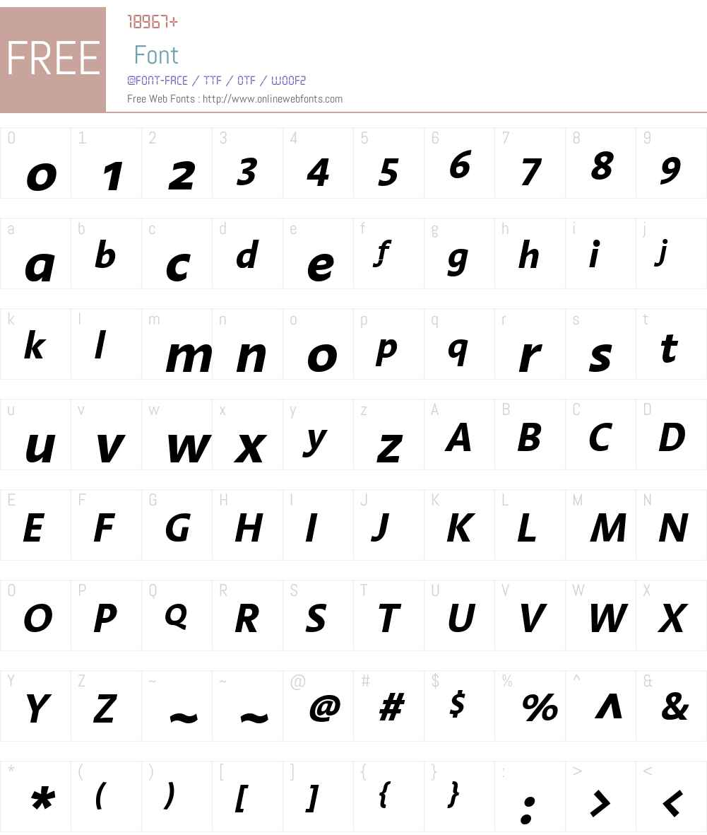 LTAroma Font Screenshots