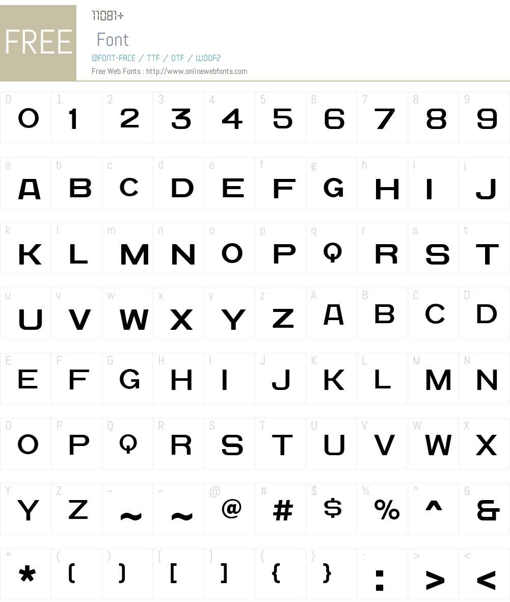 QuadratGroteskNewW01-Reg Font Screenshots