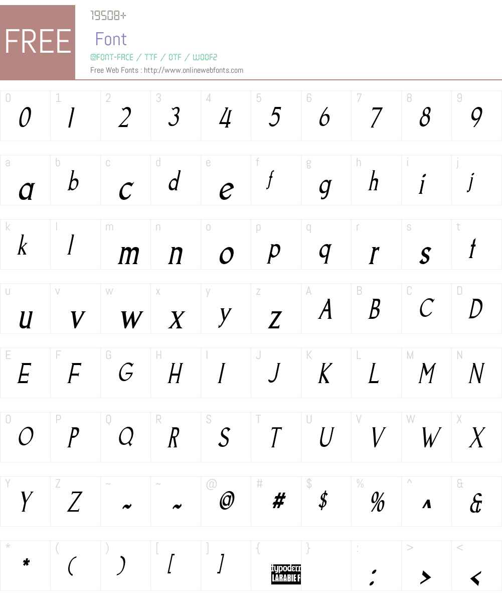 Goodfish Font Screenshots