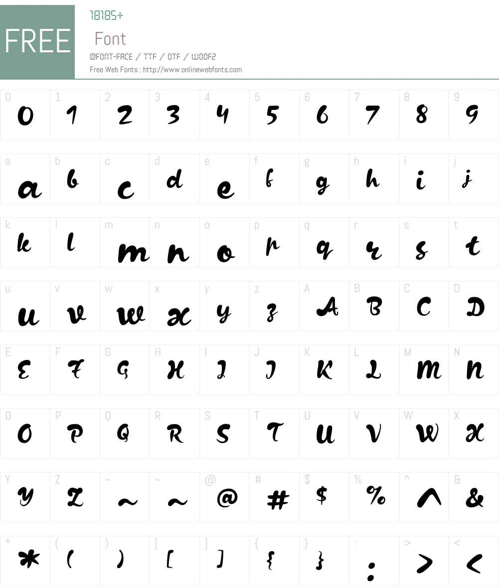 Kapelka New Font Screenshots