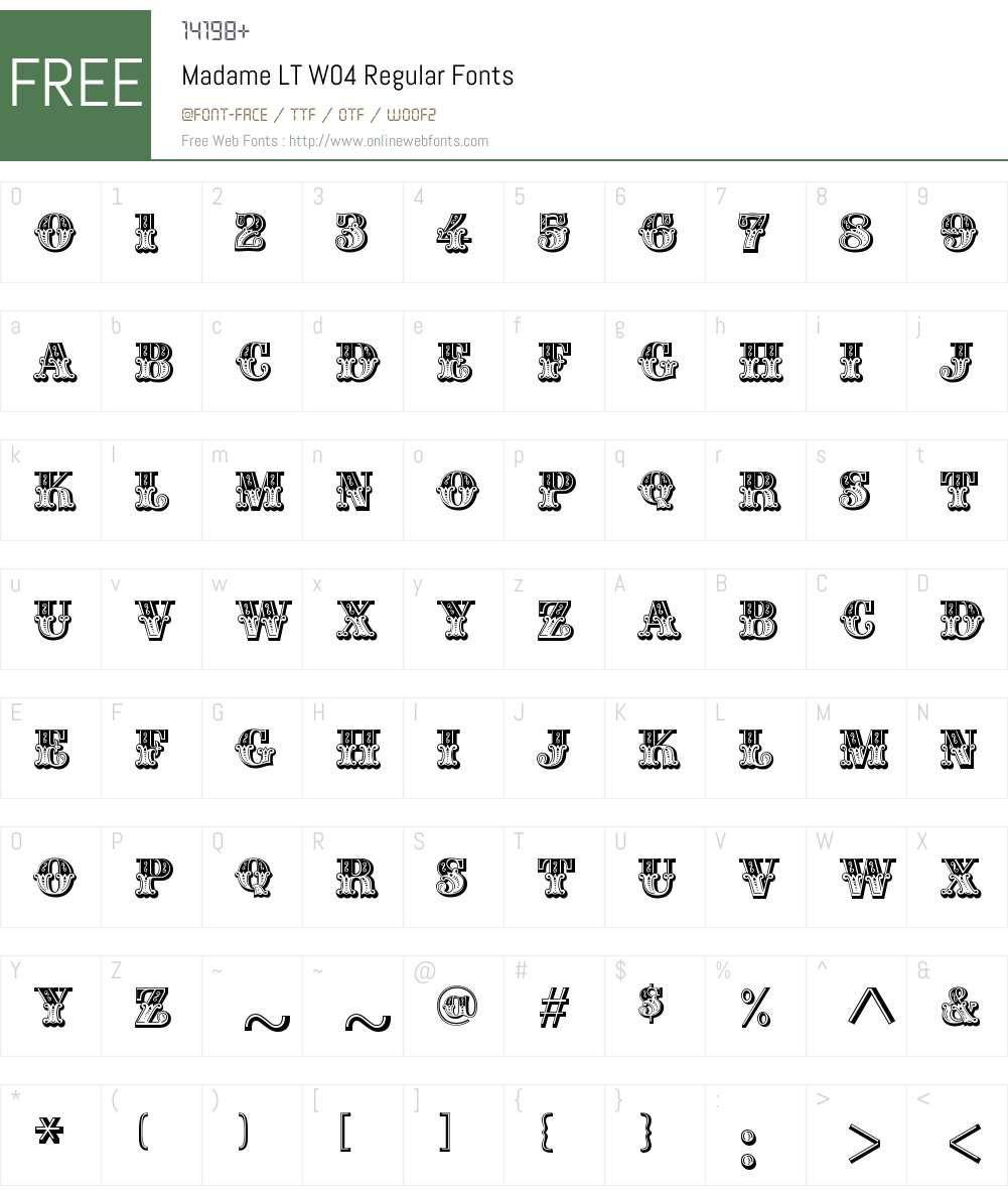 Madame Font Screenshots