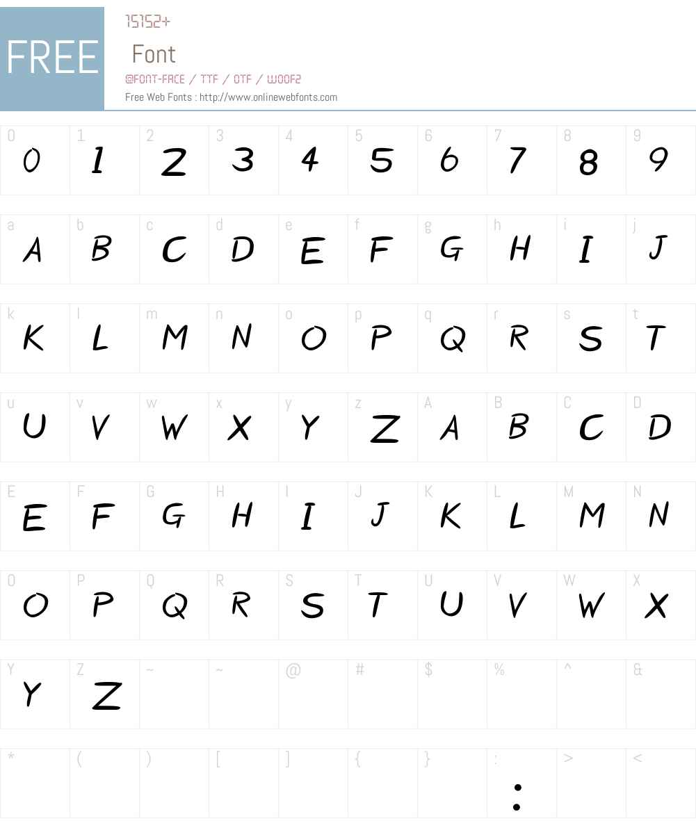 Starzy Darzy Font Screenshots