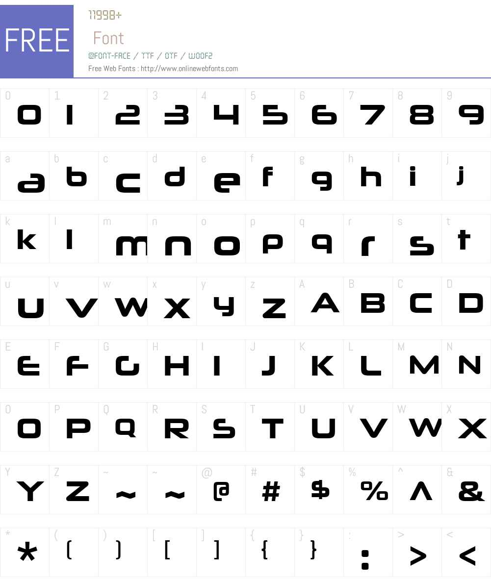 NeuropoliticalW00-Bold Font Screenshots