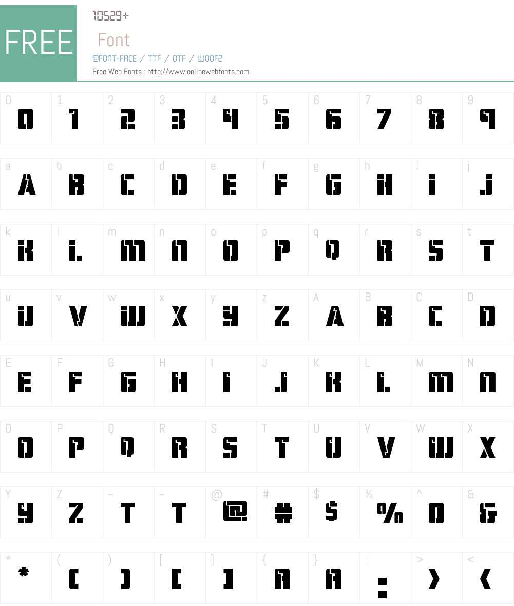 Hard Science Expanded Font Screenshots