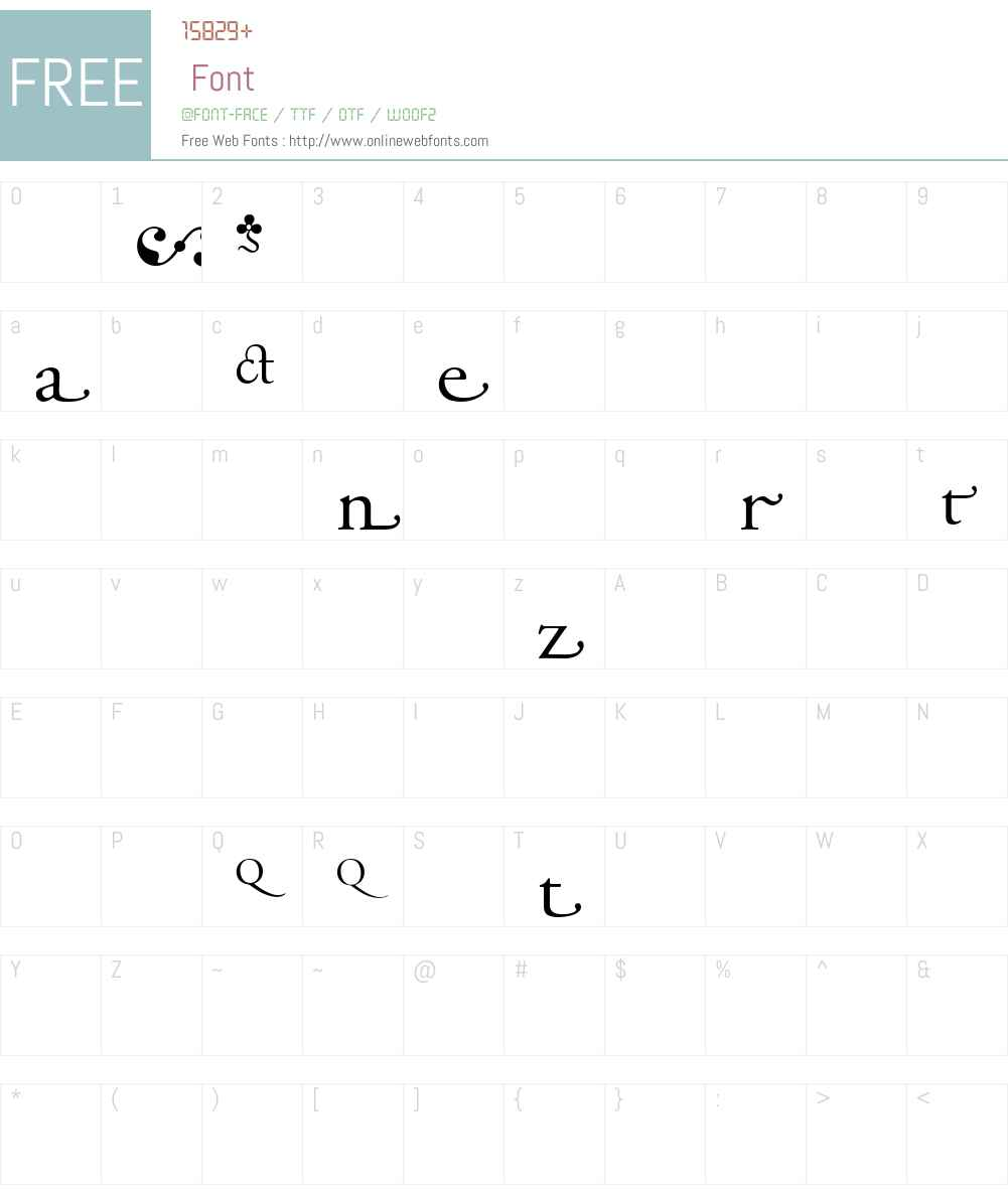 AGaramondAlt Font Screenshots