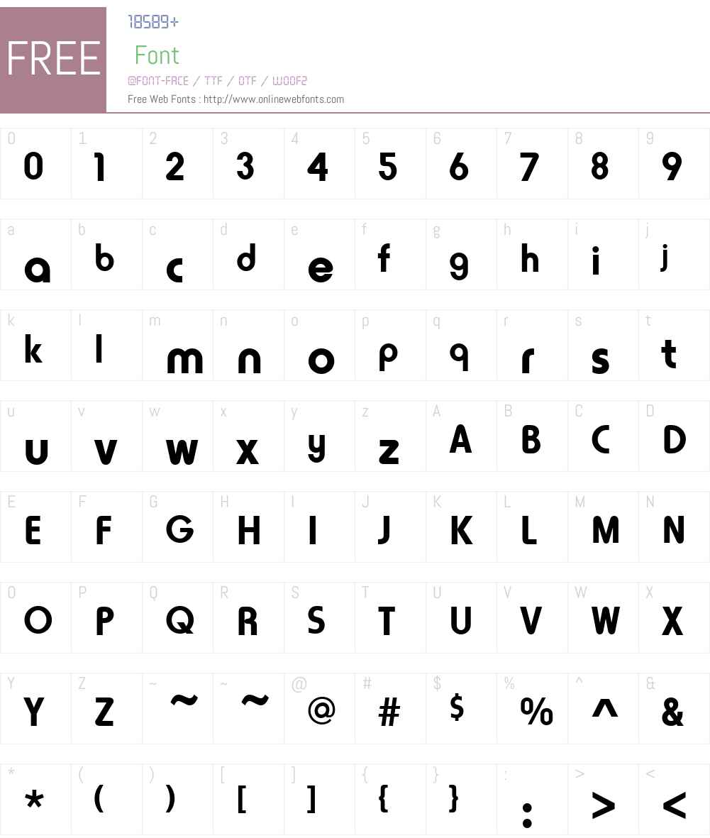 HoratioLTW01-Bold Font Screenshots