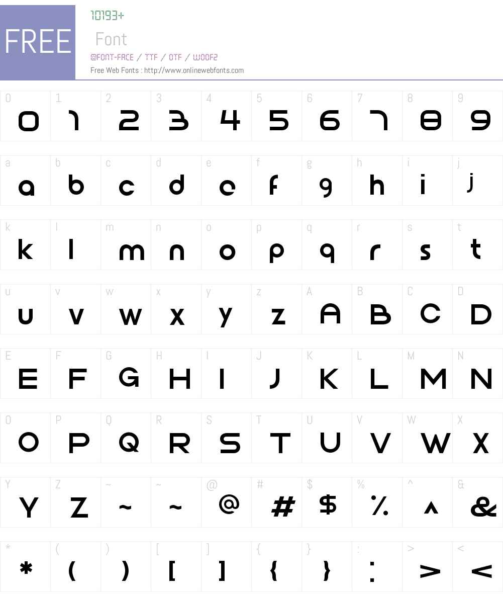 JophW01-Book Font Screenshots