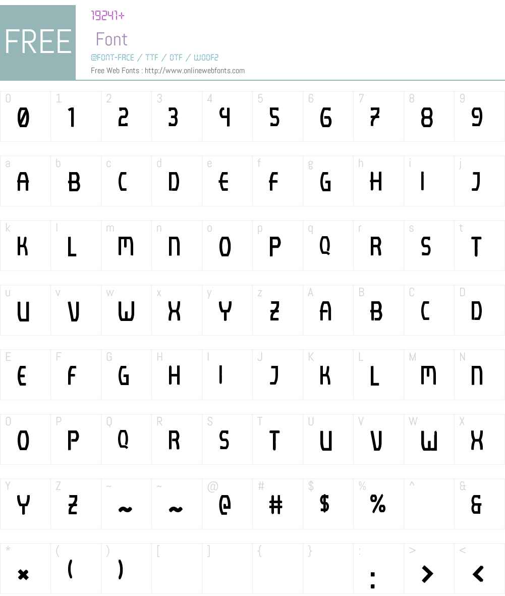 Lenijo Brush Font Screenshots
