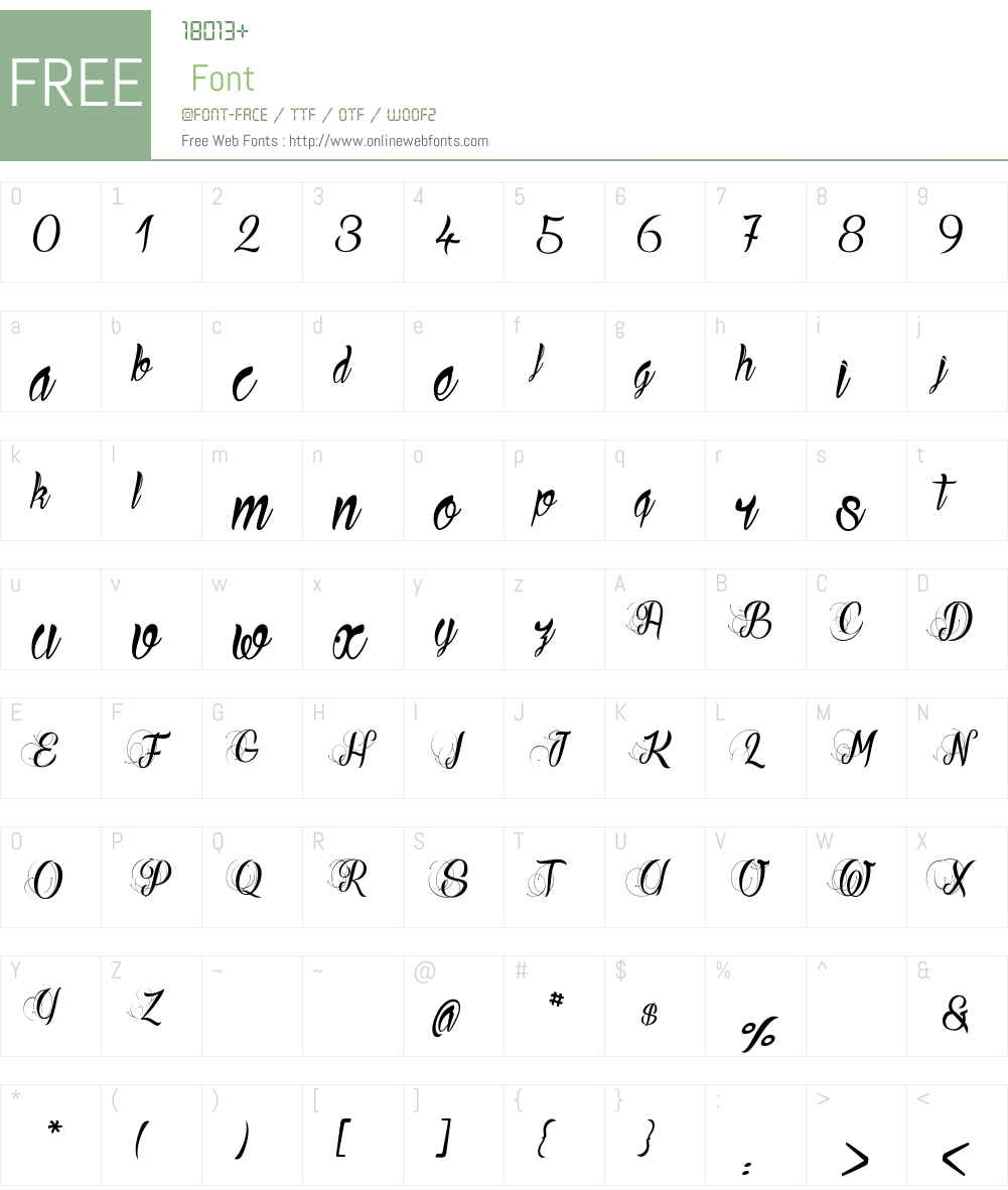 Ready to Ride_PersonalUseOnly Font Screenshots