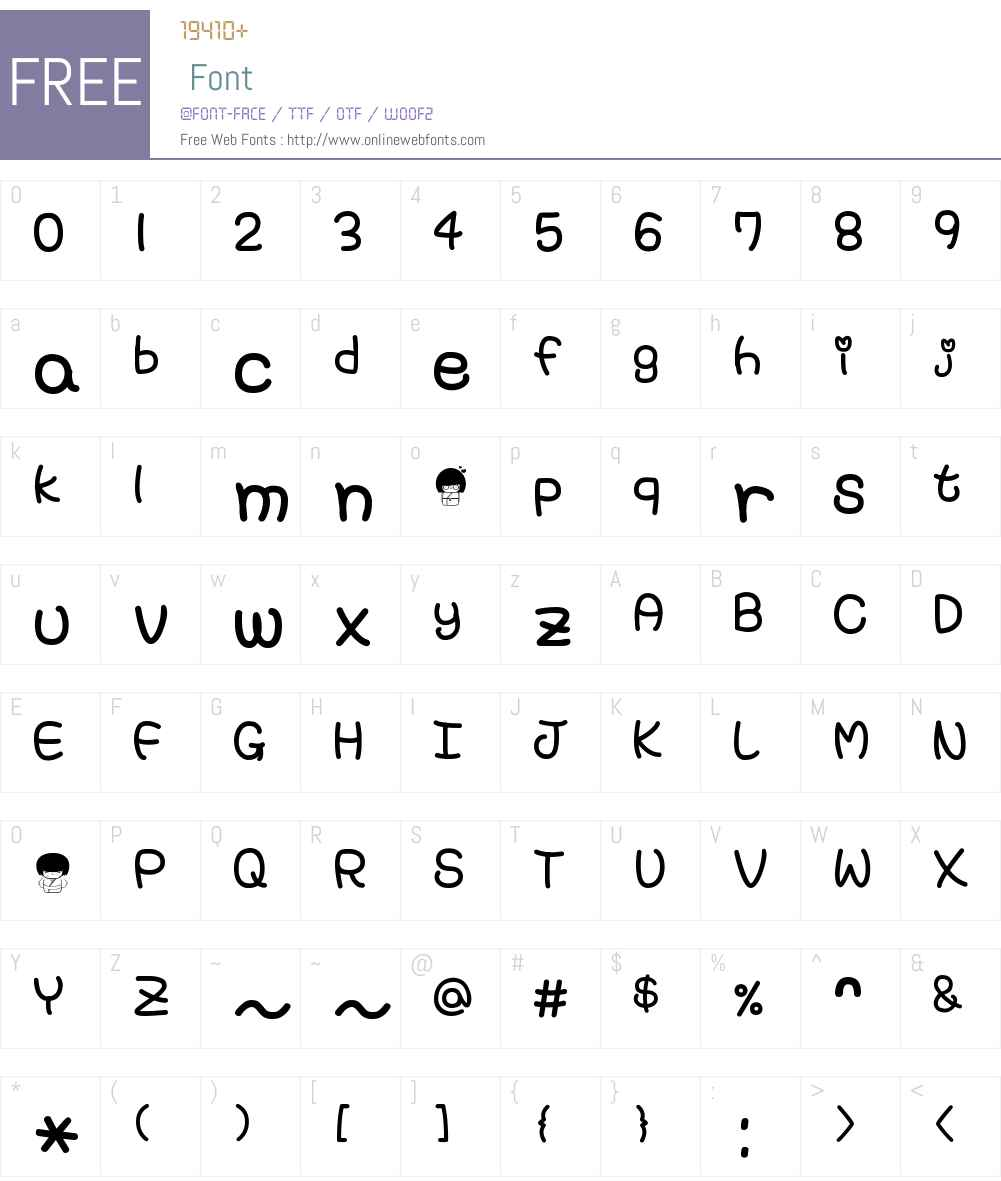cecil1 Font Screenshots