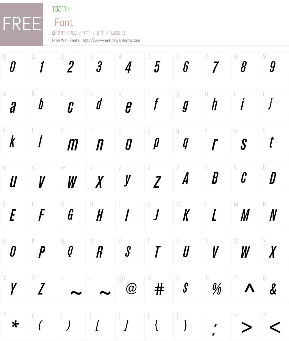 Berthold Akzidenz Grotesk BE Font Screenshots