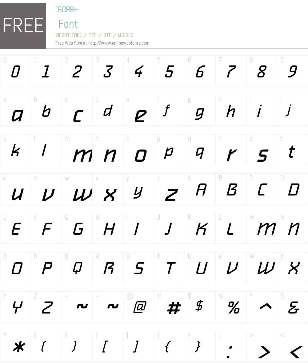 Alphaville Font Screenshots