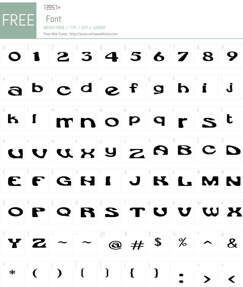 Rsdaytona Ex Font Screenshots
