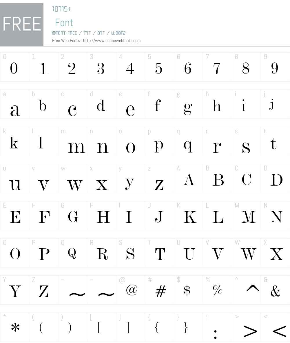 Bazaar Neo Font Screenshots