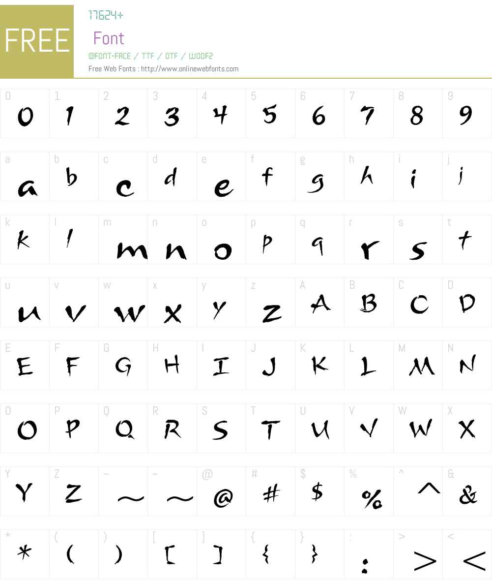 Arnova ITC Std Font Screenshots