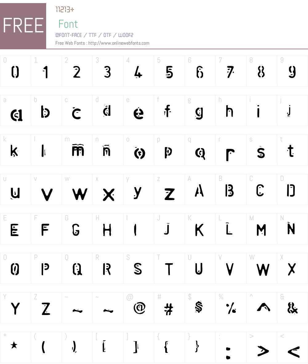 Helix Font Screenshots