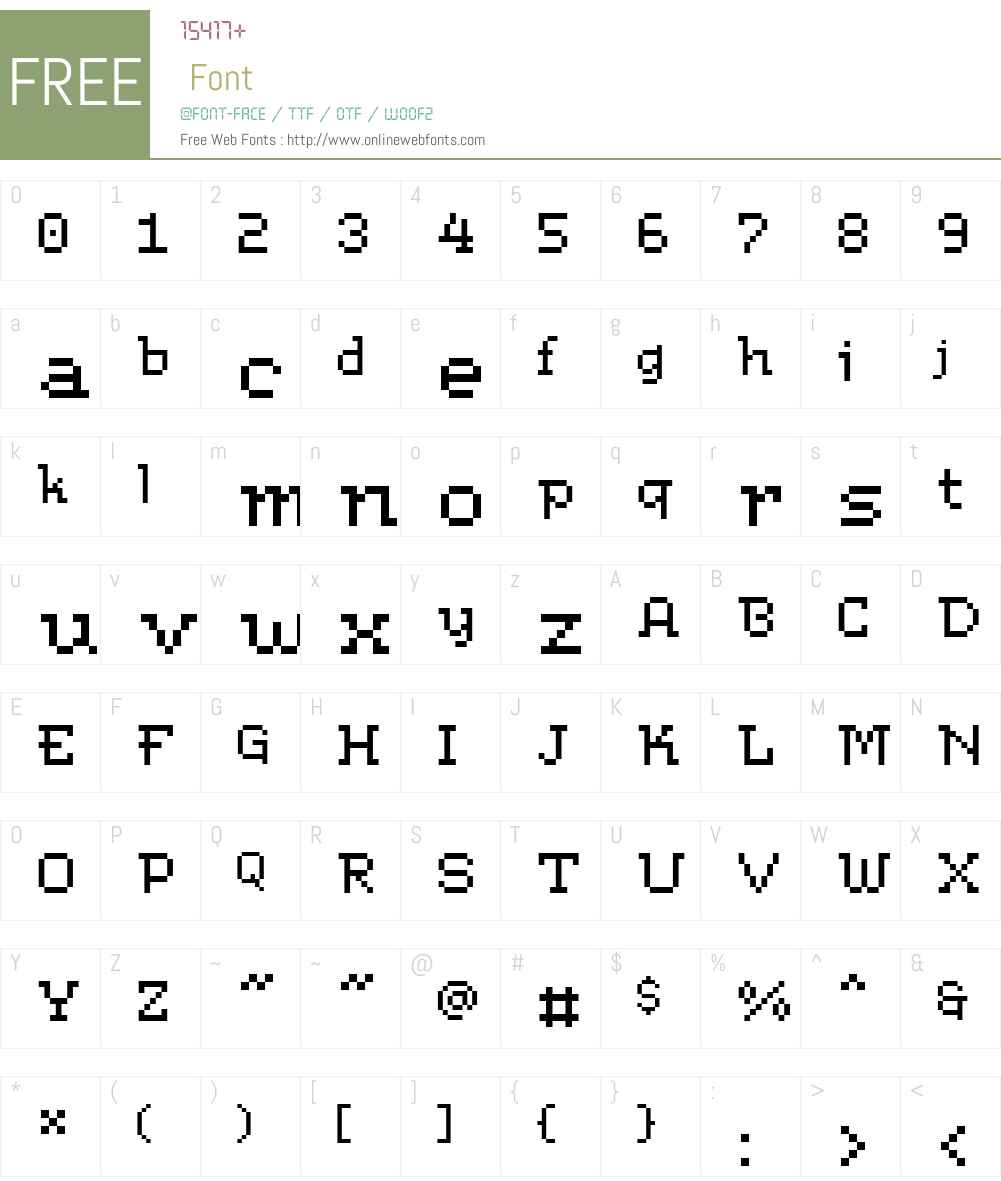ArkeoBTW01-Regular Font Screenshots