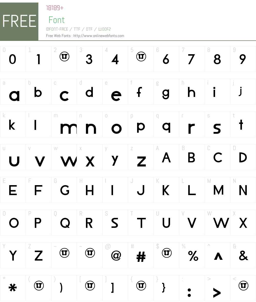 LJ Design Studios IS Font Screenshots