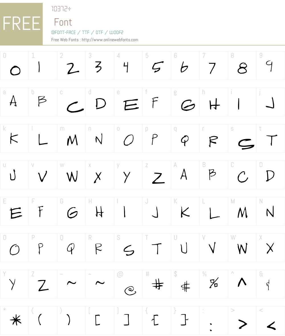 Sedillo Font Screenshots