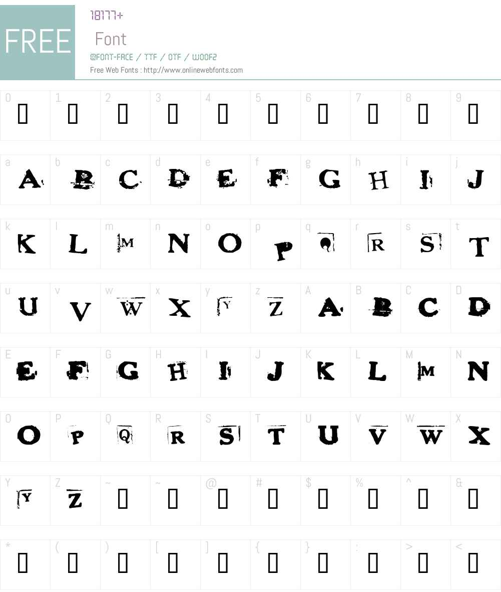 fz-wencang-103 Font Screenshots