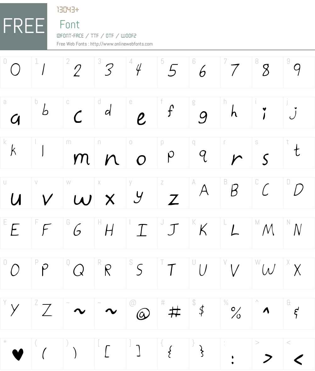 Kate the Great Font Screenshots