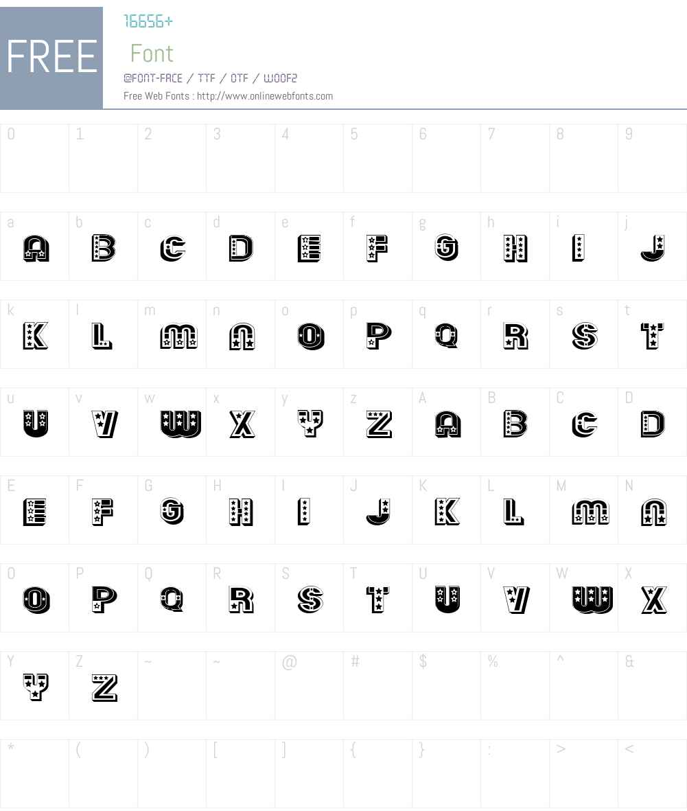 Terraces Font Screenshots