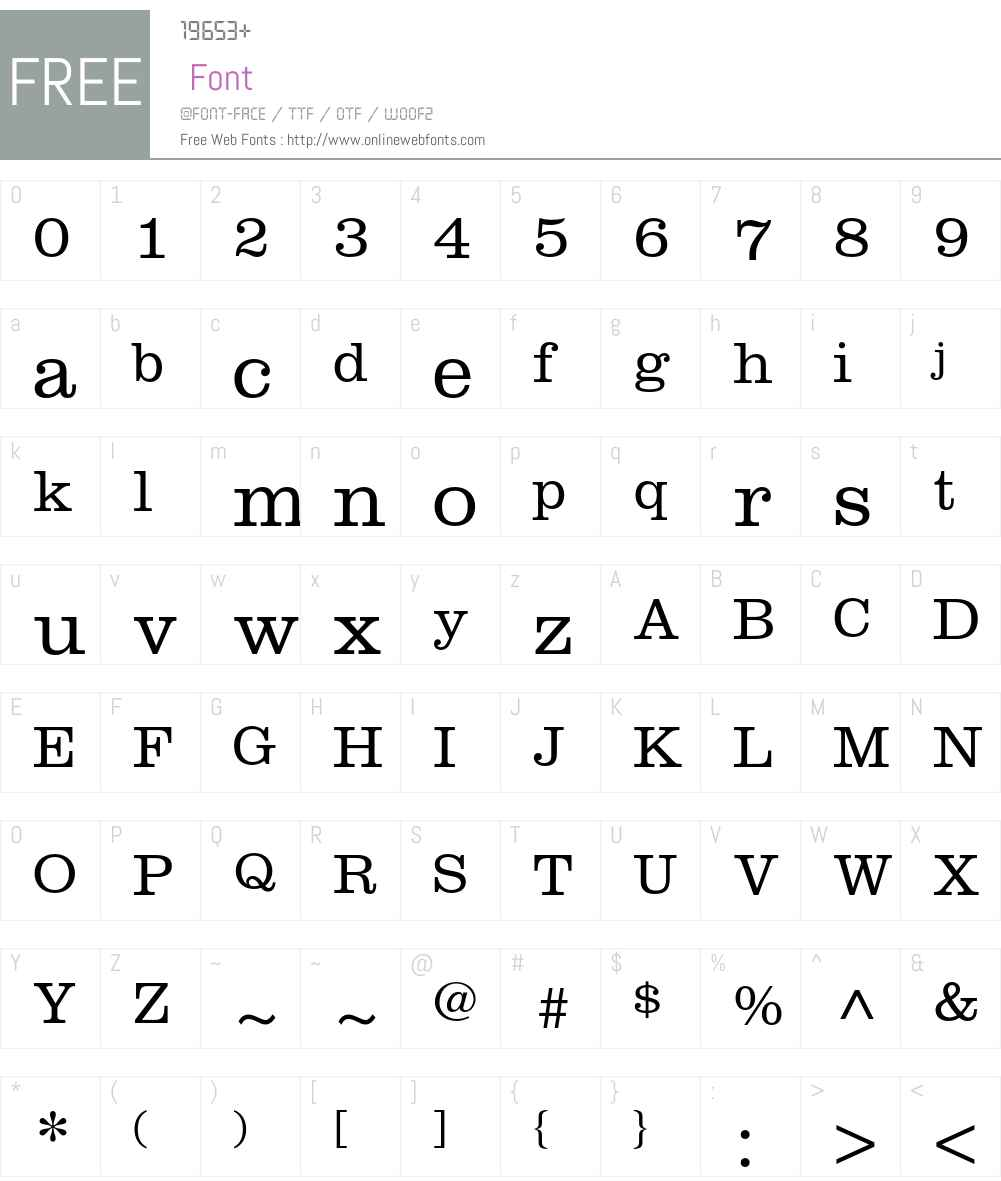 Clarendon LT Std Font Screenshots
