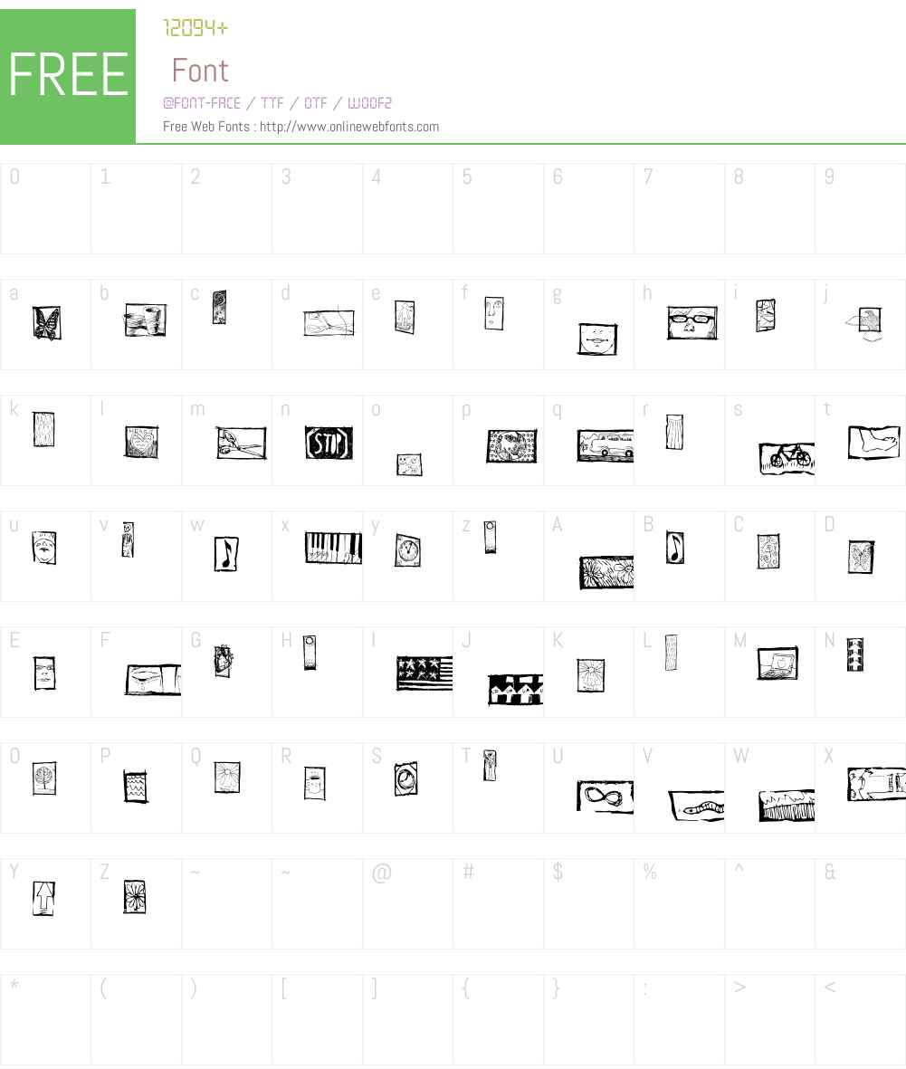Koelle Ornaments One Font Screenshots