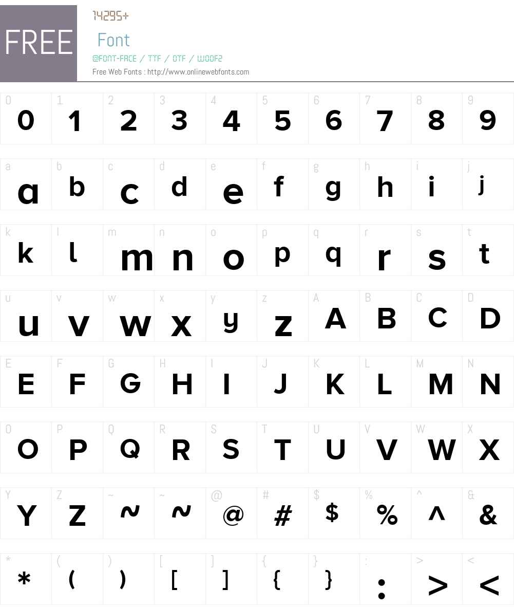 ProximaNovaAW01-Bold Font Screenshots