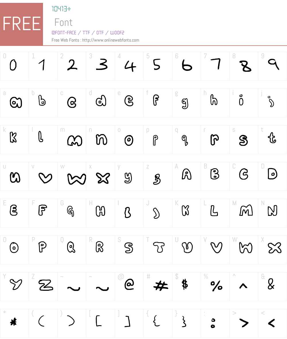fat Font Screenshots